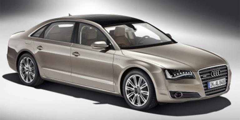 Audi Top-Modell A8 L W12