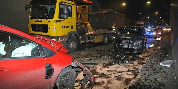 Geisterfahrer-Crash auf der A9 bei Graz
