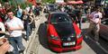 Ein Golf GTI führt die Kolonne an. Bild: TZ Österreich/Raunig