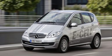 Serienversion der Mercedes A-KLasse E-Cell