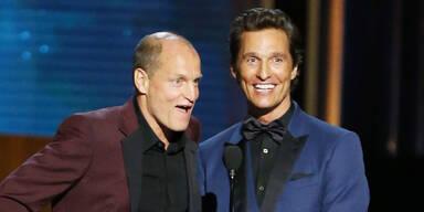 Matthew McConaughey und Woody Harrelson