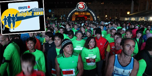 Vienna Night Run geht in 8. Runde