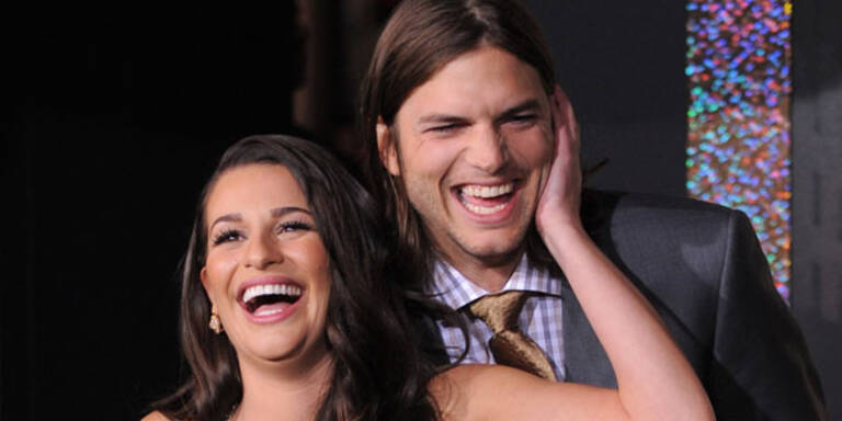 Kutcher: Silvester mit Lea Michele?