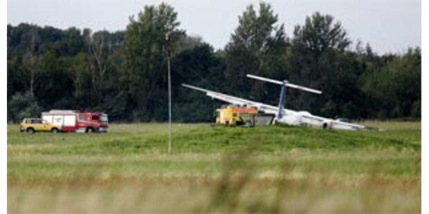 SAS-Flugzeug in Dänemark verunglückt