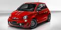 Das Sondermodell ist sogar mit dem exklusiven Ferrari-Rot zu haben. Bild: Fiat