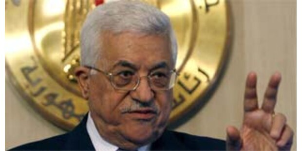 Abbas lehnt Olmerts