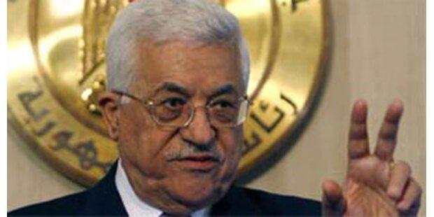Palästinenser werden Ende Jänner wählen
