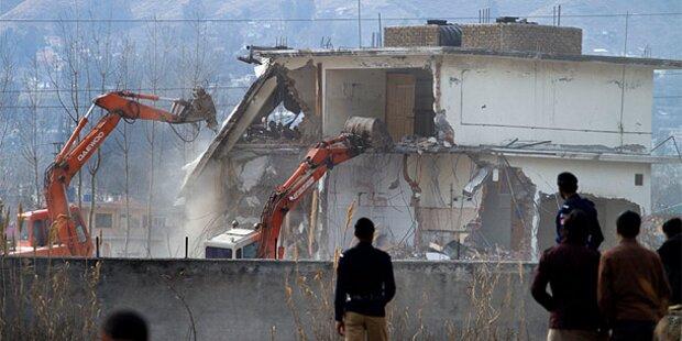 Bin-Laden-Villa wurde abgerissen