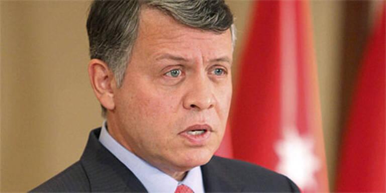"""Jordaniens König verspricht """"echte"""" Reformen"""