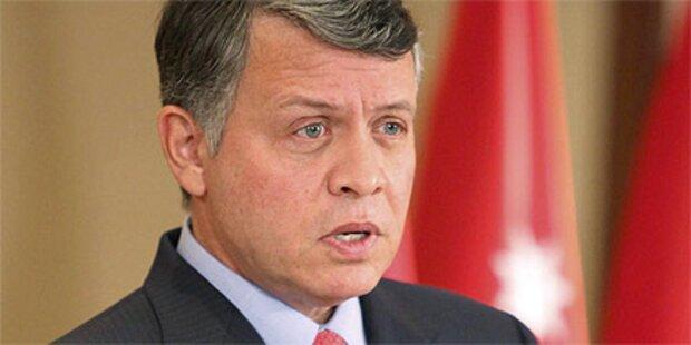 Jordaniens König verspricht