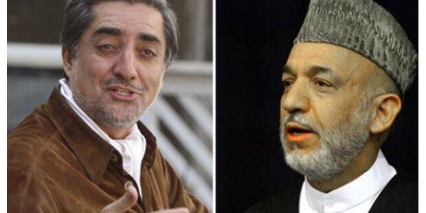 Karzai-Herausforderer tritt an