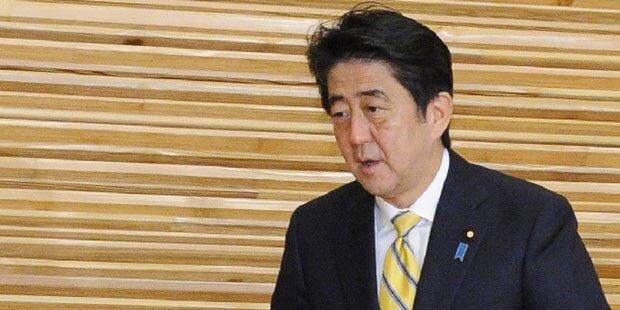 Japan: Premier Abe löst Parlament auf