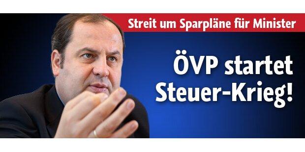 ÖVP startet Steuer-Krieg!