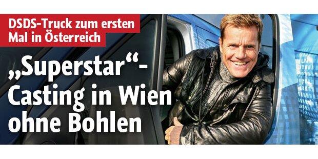 DSDS-Casting in Wien - ohne Bohlen