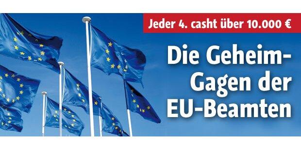 Die Geheim-Gagen der EU-Beamten
