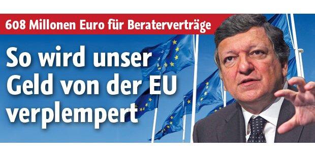 So verplempert die EU unser Geld