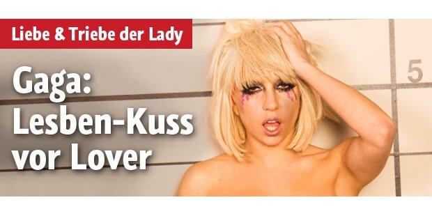 Gagas Lesben-Kuss vor ihrem Lover