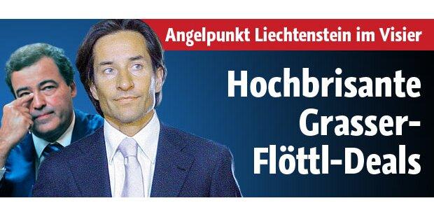 Hochbrisante Grasser-Flöttl-Deals