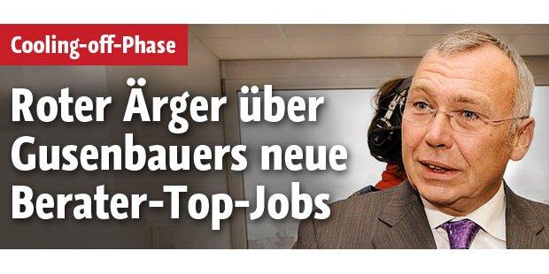 Ärger über Gusenbauers Berater-Jobs