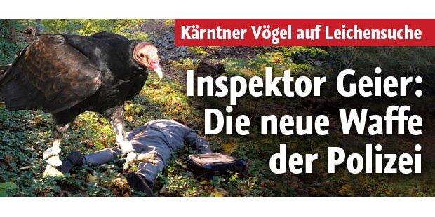 Inspektor Geier: Neue Waffe der Polizei