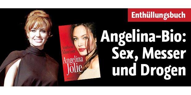 Angelina-Bio: Sex, Messer und Drogen
