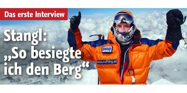 So erlebte Stangl den Aufstieg am K2