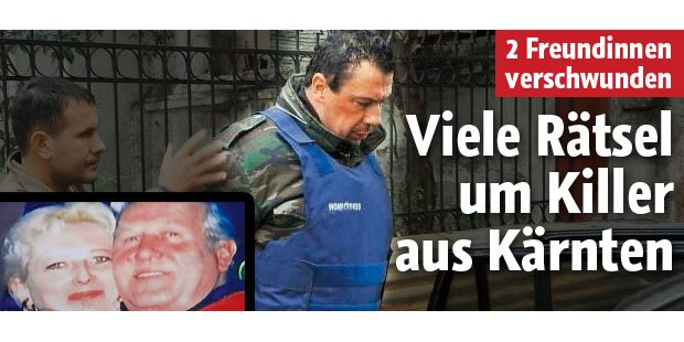 Viele Rätsel um Killer aus Kärnten