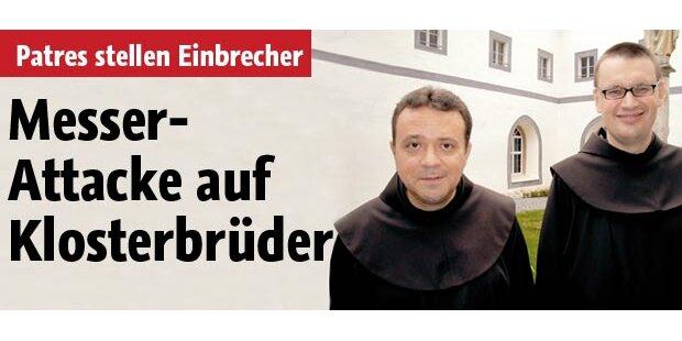 Mutige Mönche gegen Messerstecher