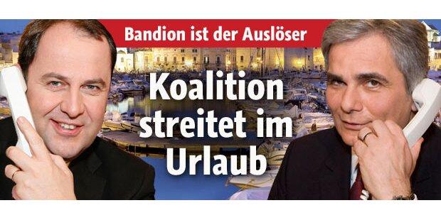 Koalition streitet im Urlaub um Justiz