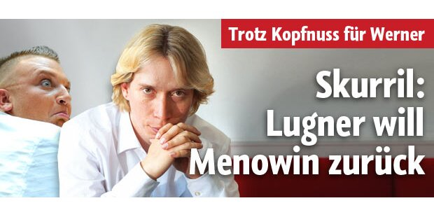 Skurril: Lugner will Menowin zurück