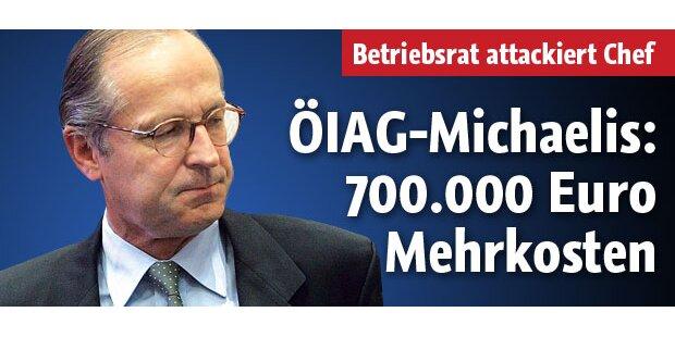 ÖIAG: Mehrkosten für Michaelis: 700.000€