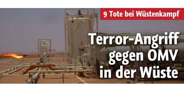 Terrorangriff gegen OMV in der Wüste