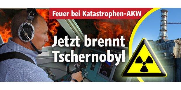 Brände erreichen Tschernobyl
