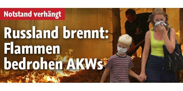 Flammenmeer bedroht jetzt AKWs