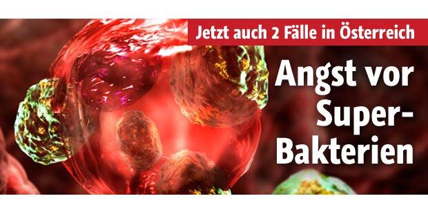 Österreich in Angst vor Superbakterien