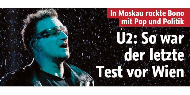 Das war der letzte U2-Test für Wien
