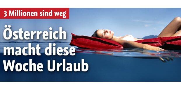 Österreich macht diese Woche Urlaub