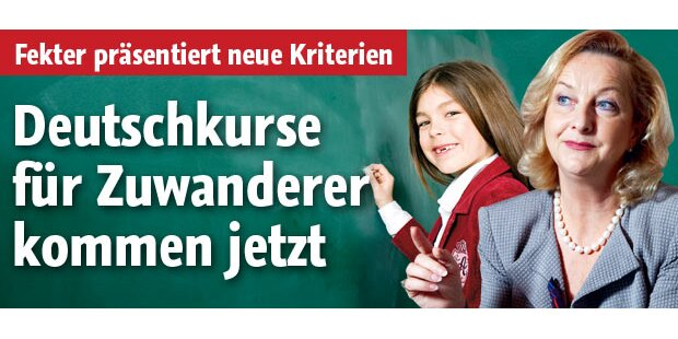 Deutschkurse für Zuwanderer kommen