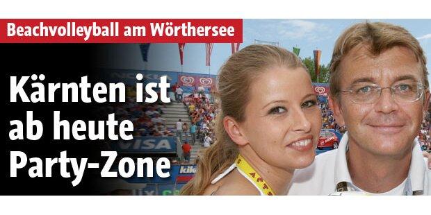 Kärnten ist ab Donnerstag Party-Zone