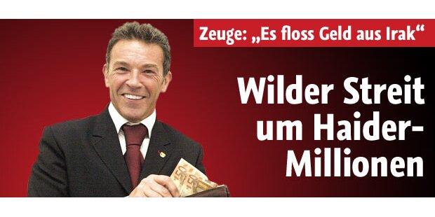 Wilder Streit um Haider-Millionen