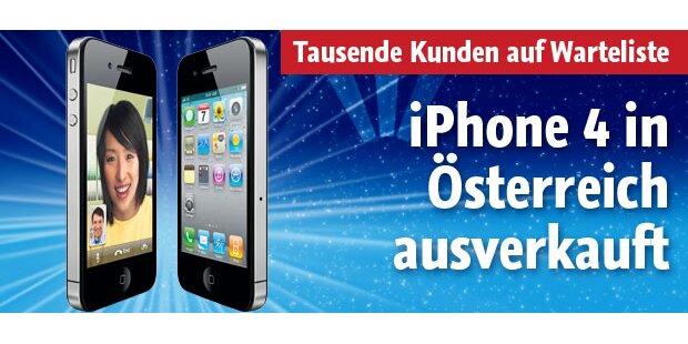 iPhone 4 in Österreich ausverkauft