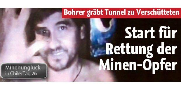 Start für Rettung der Minen-Opfer