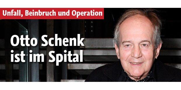 Otto Schenk ist im Spital
