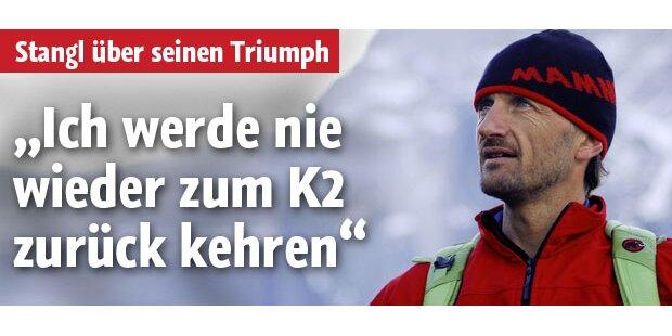 Skyrunner Stangl und sein Triumph am K2