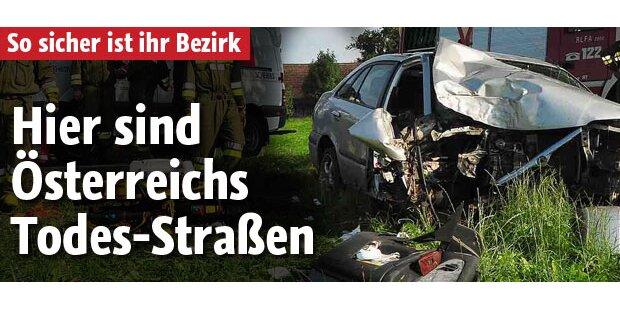 Hier sind Österreichs Todes-Straßen