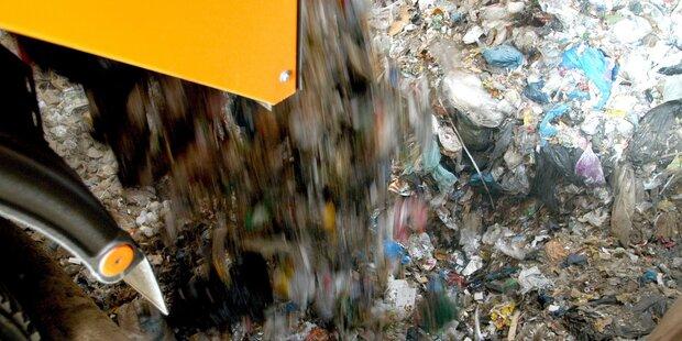 546 Kilogramm Müll pro Kopf und Nase
