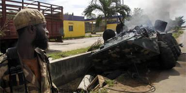 Kämpfe in Abidjan (Elfenbeinküste)