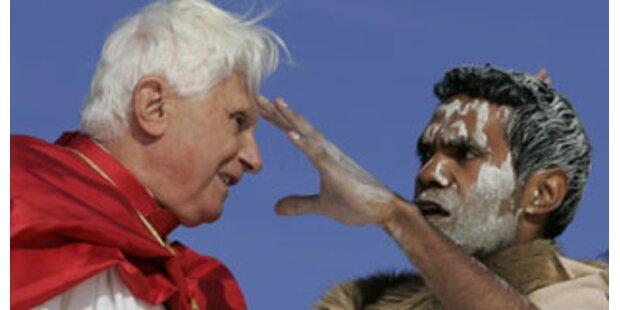 Wird sich der Papst bei den Aborigines entschuldigen?