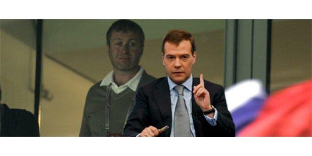 Medwedew entlässt Abramowitsch als Gouverneur