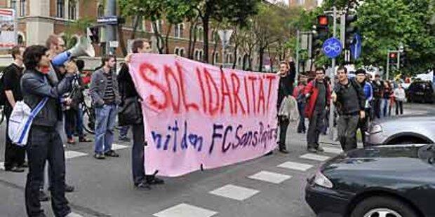 Weitere Demo gegen Abschiebungen in Wien